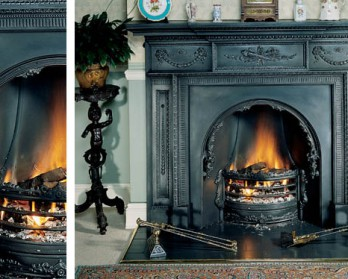 Камин Stovax William IV Cast Iron Mantel встроенный